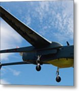 A Hunter Joint Tactical Unmanned Aerial Vehicle Metal Print