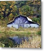A Is For Autumn Metal Print