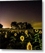 A Kansas Evening Metal Print