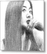 a Korean Girl Metal Print