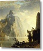 A Lake In The Sierra Nevada Metal Print