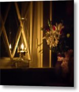 A Lamp In The Window For My Love Metal Print