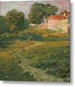 A Landscape In Vicinity Of Strijigorod Metal Print