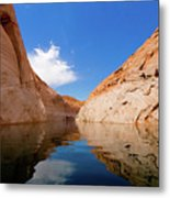 A Leisurely Paddle Metal Print