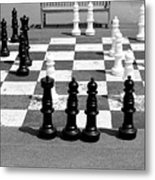 A Life Time Game Of Chess Metal Print by Danielle Allard