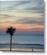 Daytona Beach Sunrise Metal Print