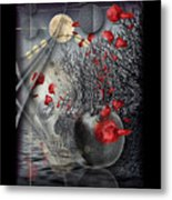 A Little Bit Of Death Between The Worlds Metal Print by Mimulux patricia no No