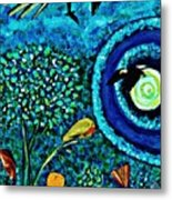 A Little Garden At The Edge Of The World Metal Print