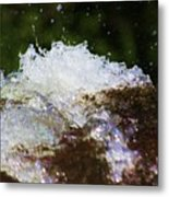 A Little Splash Of Water Metal Print