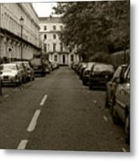 A London Street II Metal Print
