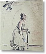 A Lonely Thought Metal Print