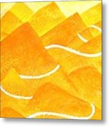A Lonely Trail Metal Print