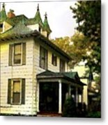 A Lovely House Metal Print