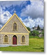 A Lovely Jamaican Church Metal Print