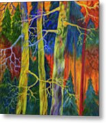A Magical Forest Metal Print