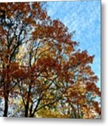 A Magnificent Fall Day Metal Print