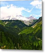 A Majestic View  Metal Print