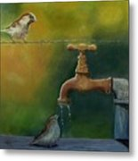A Matter Of Watter Metal Print
