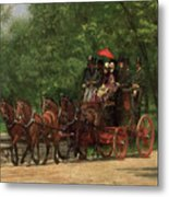 A May Morning In The Park Metal Print