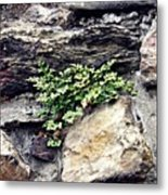 A Medieval Town Wall Metal Print