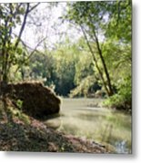 A Medina River Morning Metal Print