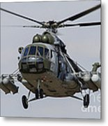 A Mil Mi-17 Helicopter Of The Czech Air Metal Print