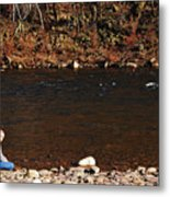 A Moment By The Water Metal Print