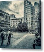 A Moment In Southwark, London. Metal Print