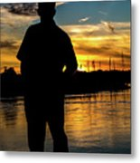 A Moment To Reflect Metal Print