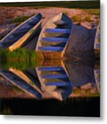 A Moment's Rest Metal Print
