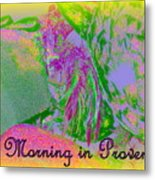 A Morning In Provence Metal Print