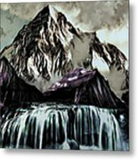 A Mountain To Think About Metal Print