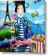 A Moveable Feast Metal Print