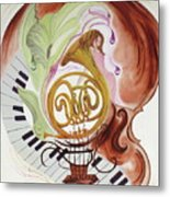 A Muse For The Mistro Metal Print