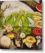 A Mushroom Story Metal Print