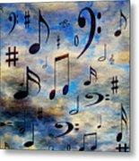 A Musical Storm 3 Metal Print
