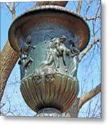A Navy Yard Urn In Lafayette Square -- West Metal Print