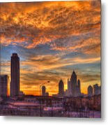 A New Day Atlantic Station Sunrise Metal Print