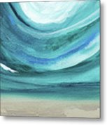 A New Start Wide- Art By Linda Woods Metal Print