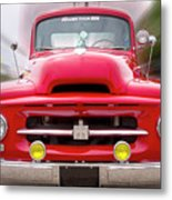 A Nice Red Truck  Metal Print