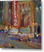 A Night At The Theater Metal Print