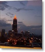 A Night In Atlanta Metal Print