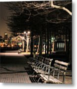 A Night In Hoboken Metal Print by JC Findley