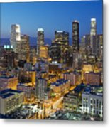 A Night In L A Metal Print