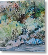 A Northern Shoreline Metal Print