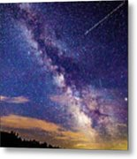 A Northern View Of The Milky Way Metal Print