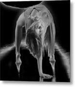 A Painful Pose Metal Print