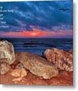 A Painted Sky For The Poet's Eye Metal Print