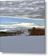 A Patch Of Blue Metal Print