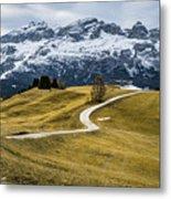 A Path In The Dolomites - Alta Badia, Italy - Landscape Photogra Metal Print
